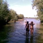 Zwemmen in Oude Maas 4